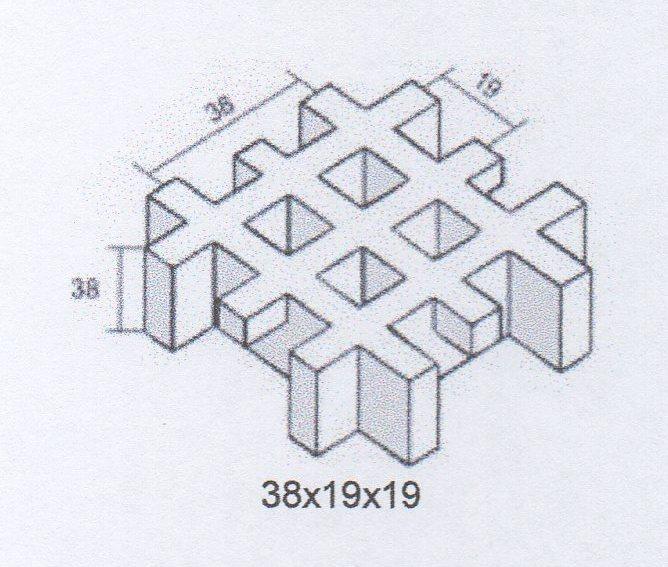38х19х19