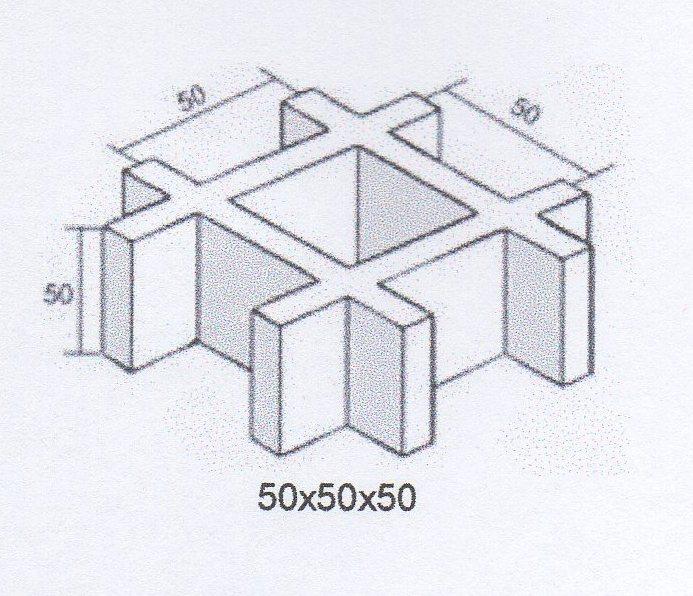 ячейка 50х50х50